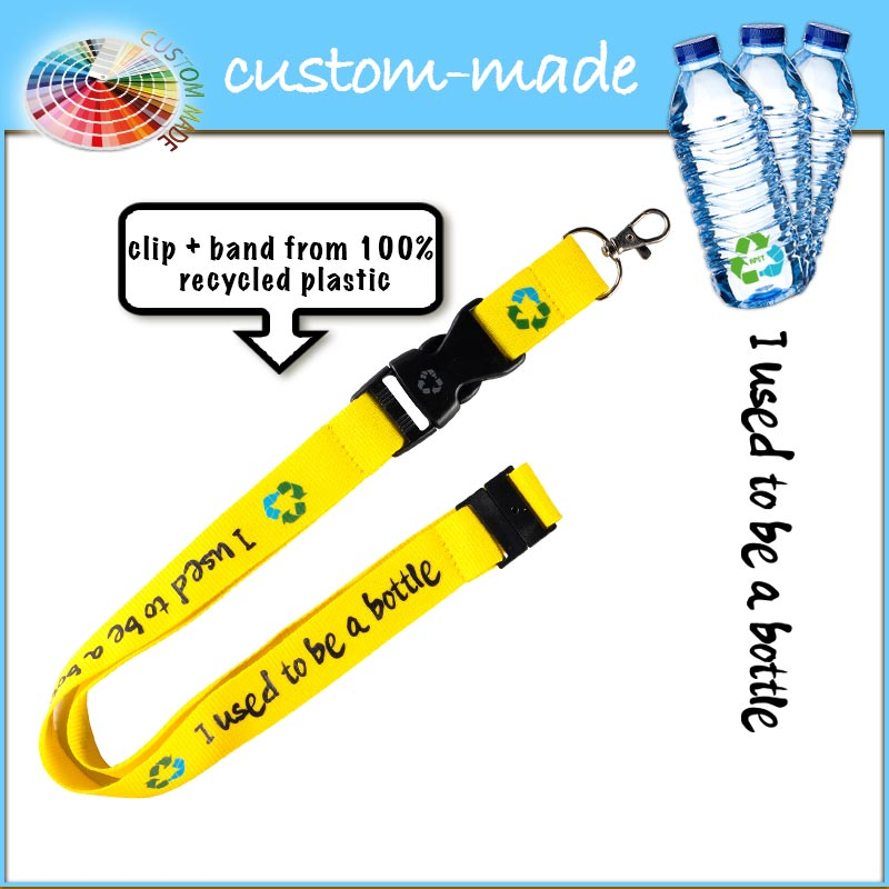 lanyard 25mm eco van gerecyclede PET-flessen RPET custom-made-2