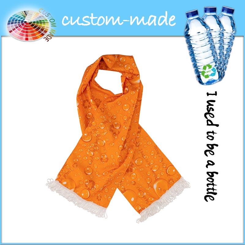 fan actie sjaal eco van gerecyclede PET-flessen RPET custom-made-2