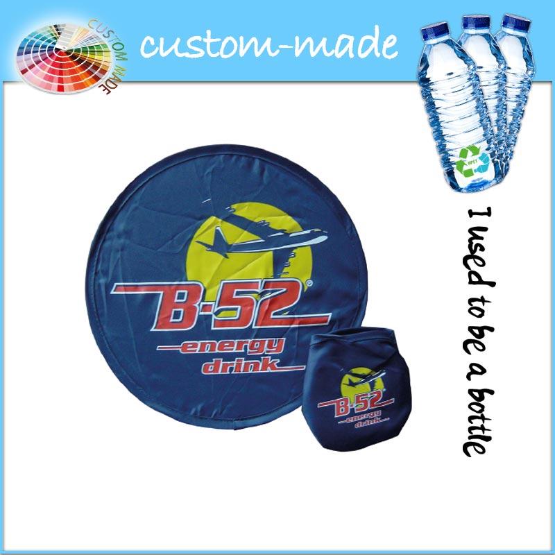 frisbee eco van gerecyclede PET-flessen RPET custom-made